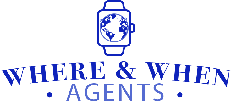 Where and When Agents Logo